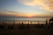 Karon beach sunset